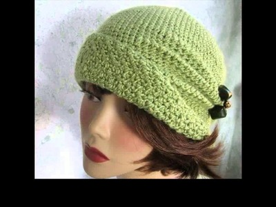 Crochet hats for women