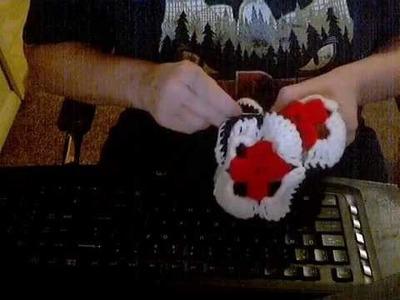 Crochet Starburst hotpad part 4