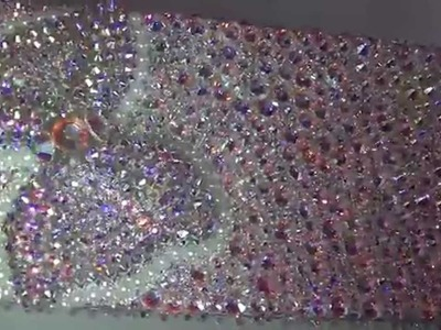 DECORACION-PHONE CASE-IPHONE 5s-100% Swarovski crystals