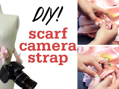 DIY Camera Strap Scarf!