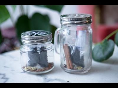 DIY CHAI LATTE IN A JAR - GIFT IDEA