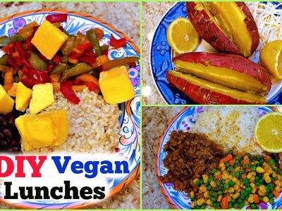 DIY Healthy VEGAN Lunches BULK