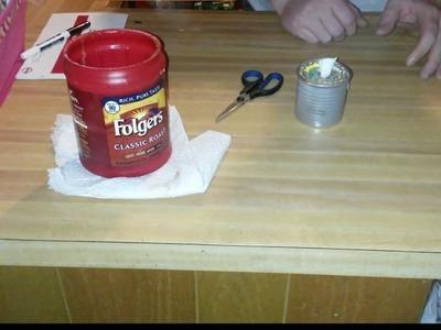 EASY - DIY - FREE firestarter candle