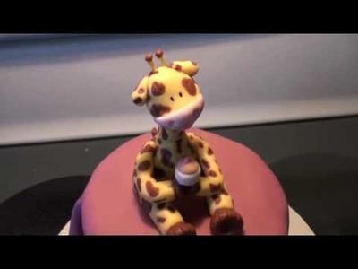 Fondant Giraffe Cake