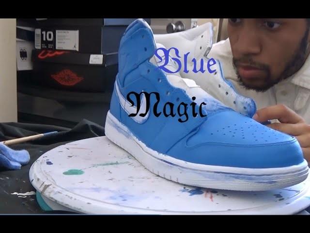 Full Custom Jordan 1 (Blue Magic)