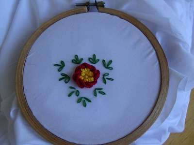 Hand Embroidery: Caston Stitch