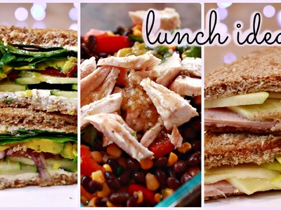 Healthy + Unique Lunch Ideas!