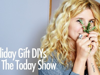 Holiday Gift DIY's for the Today Show - Behind The Scenes Prep