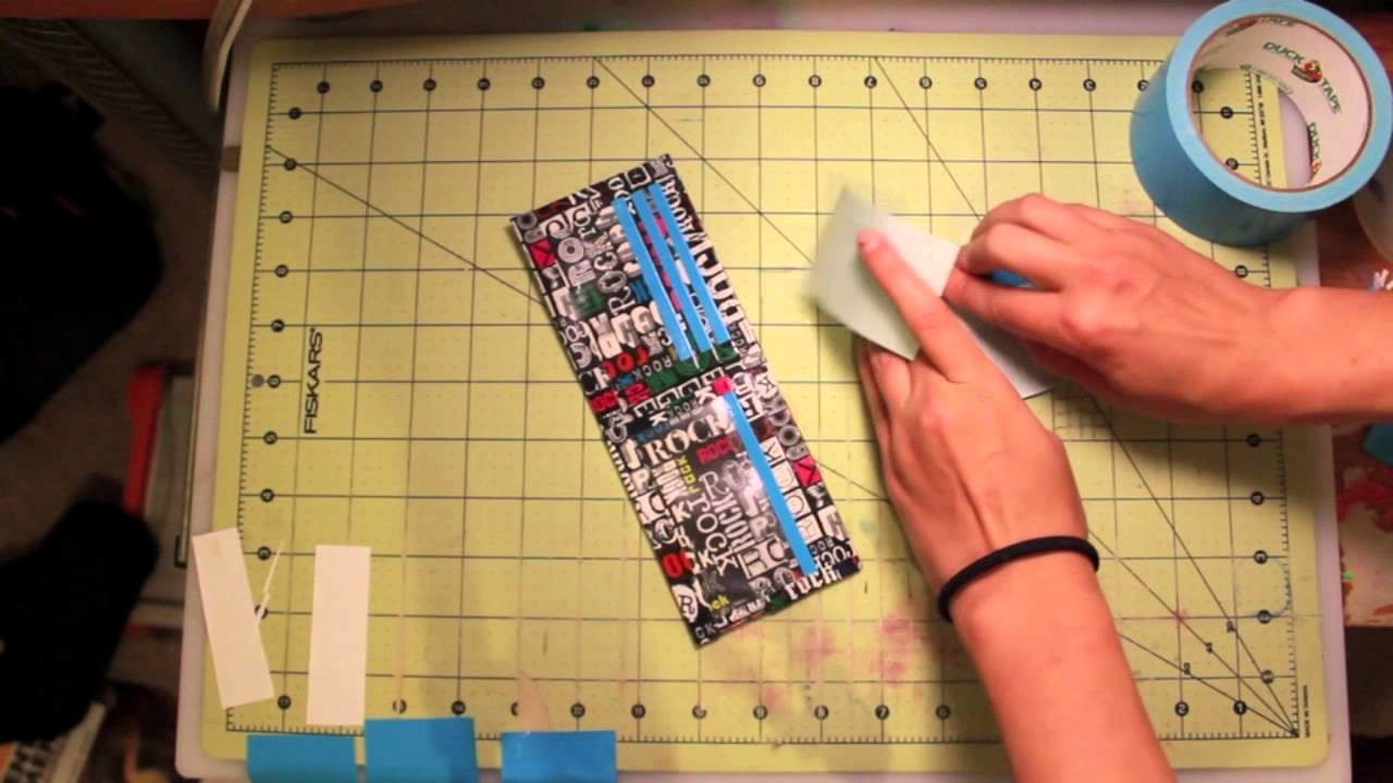 How to attach a duct tape coin pouch to a duct tape wallet!
