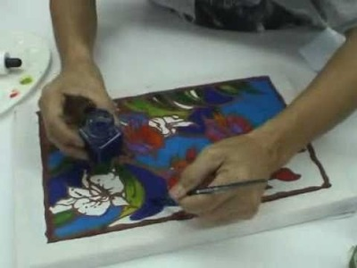 How to do Batik Painting with Quick Wax Batik Kit