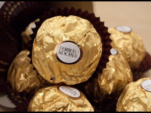 How To Make a Ferrero Rocher