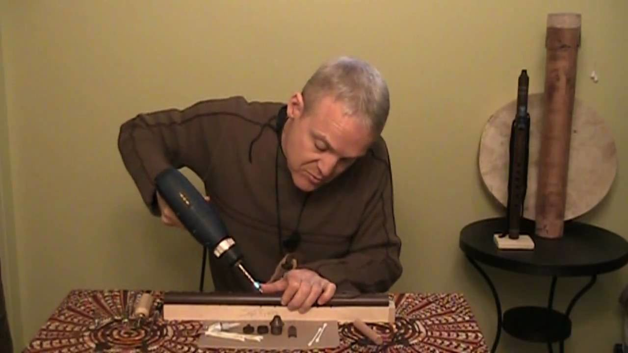 How to Make a Native American Style Flute - A Northern Spirit Flute in Less Than 5 Minutes!