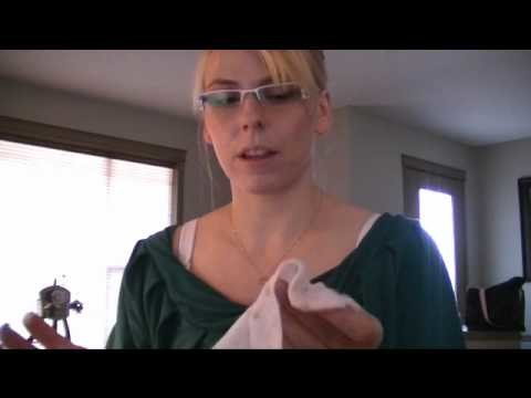 How to make baby wipe solution