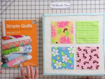 "How to Make Four Patches using 5"" Squares or Charm Packs by Me & My Sister Designs"
