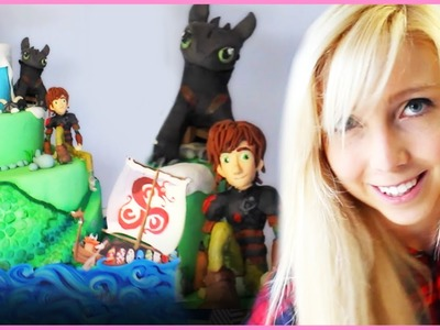How To Train Your Dragon Cake! Featuring BananaJamana