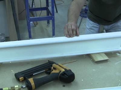 How to Trim a Craftsman Style Door Pt 3