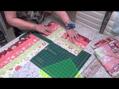Jelly Rolls Vid 2 | Janome Tutorial | Quilting Tutorial | How To Use Your Janome | Geraldine Gillen