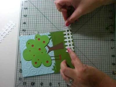 """Just Because"" Tree Cricut Card"