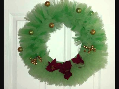 Make your own Christmas Wreath Tutorial