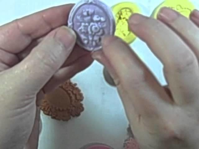 Making molds & using them to make embelishments