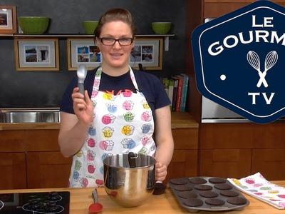 One Bowl Chocolate Cupcakes - LeGourmetTV Recipe