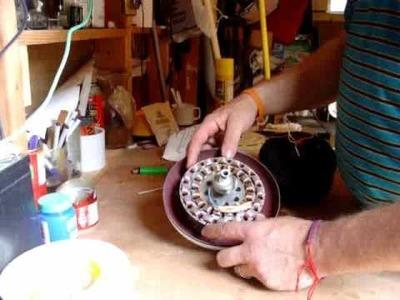 PART 2 HOW TO CEILING FAN WIND TURBINE