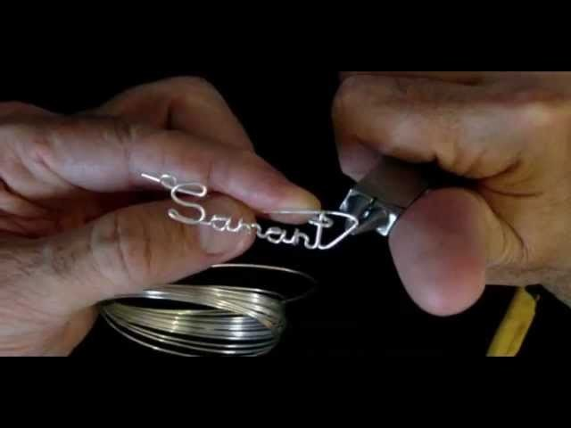 Samantha Wire Name Necklace Part 2