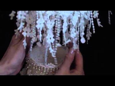 Shabbychic Lace Hot Air Ballon