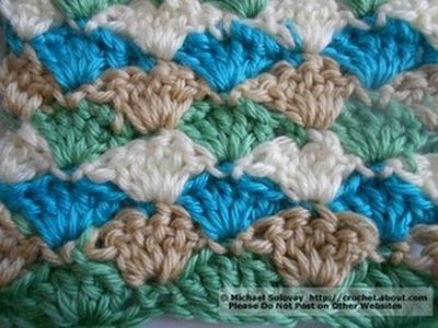 Shell stitch crochet Tamil