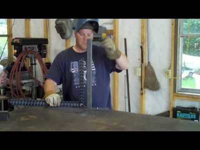 The right and wrong way to tack weld.