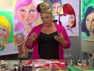 The Whimsical Face with Jane Davenport Preview