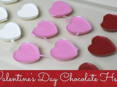Valentine's Day Chocolate Hearts