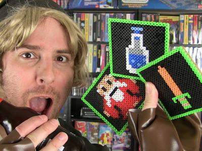 Zelda Pixel Beer Coasters - GuizDP