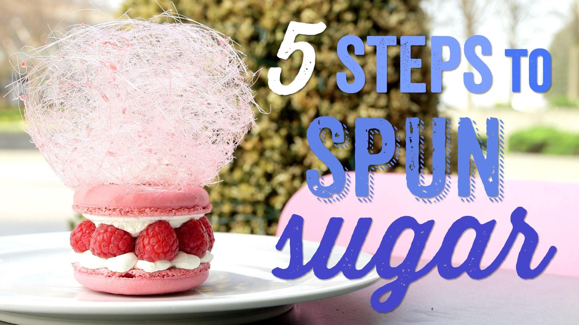 5 Steps to Spectacular Spun Sugar with Eric Lanlard