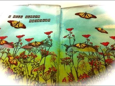 Art Jounal Book - Page 1 - A Pocket Page