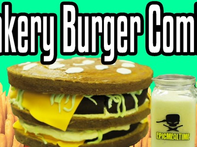Bakery Burger Combo - Epic Meal Time