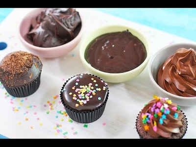 Chocolate Ganache Recipe - 3 Ways! Whipped, Poured and Spread Frosting by My Cupcake Addiction
