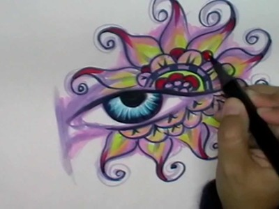 Copic markers speed coloring