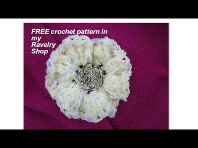CROCHET: 3 FREE Patterns & New Patterns in my shop, Sept  2015