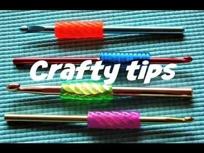 DIY Crochet hook grip ( no bake) Tutorial