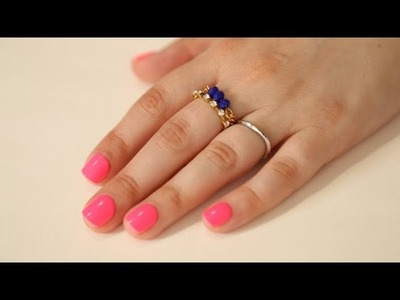 DIY Gold Stackable Rings
