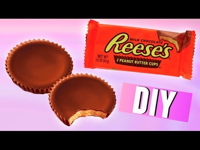 DIY Reese's Peanut Butter Cups | Make Your Own Chocolate! 2015