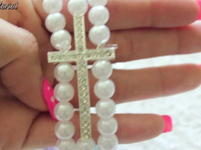 "DIY| ""special edition- cross bracelet"""
