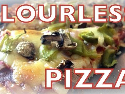 Flourless Pizza Recipe   Cheap Clean Eats
