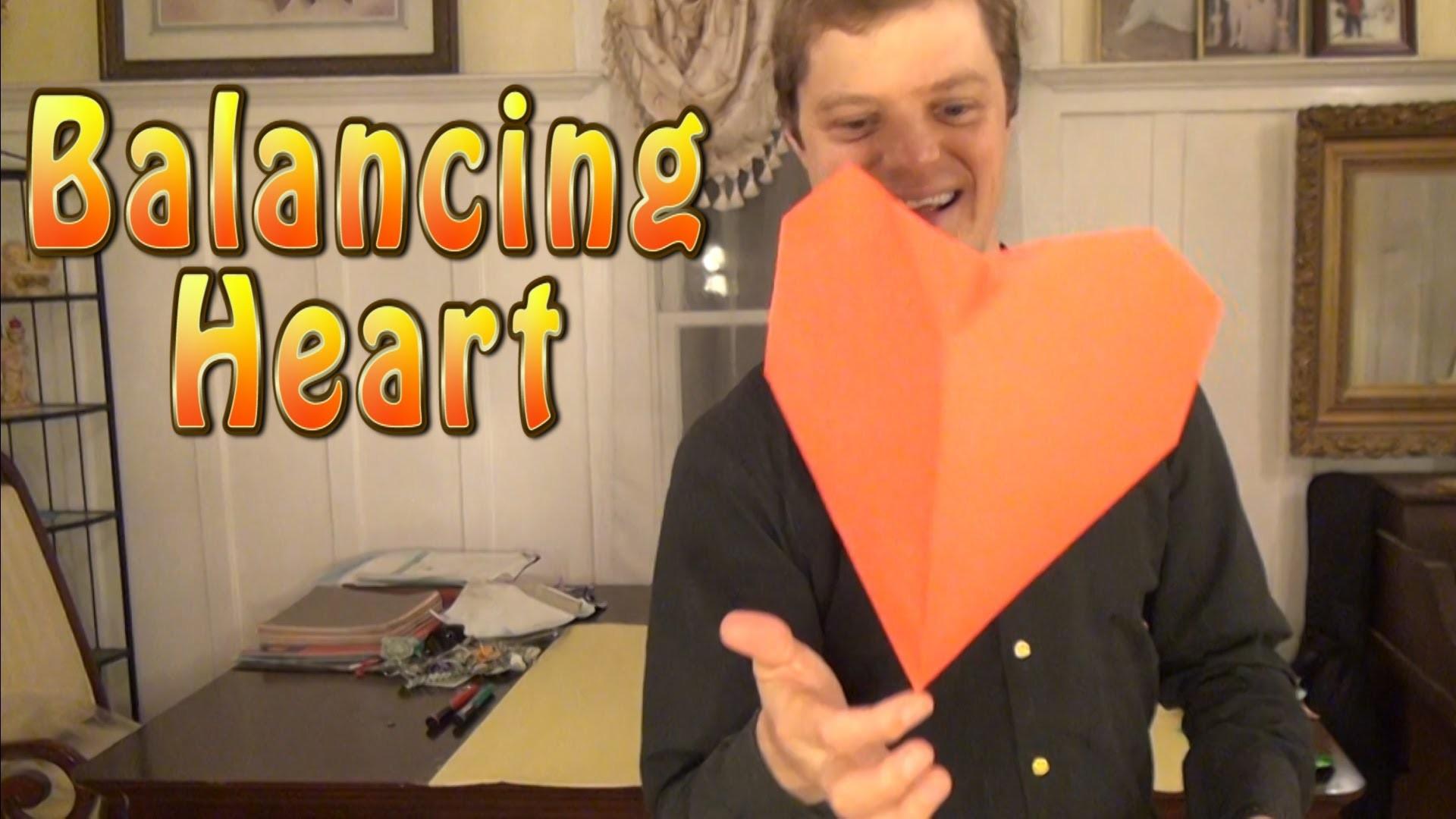 Fold a Balancing Heart!  By Jeremy Shafer