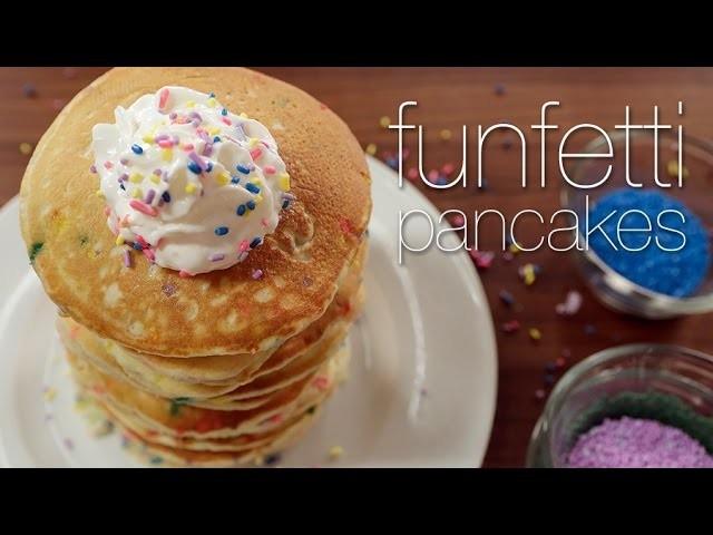 Funfetti Pancakes Worth Waking Up For.