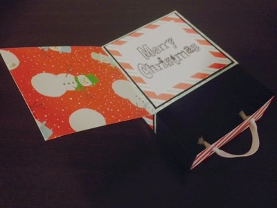 Gift Box and Card All In One