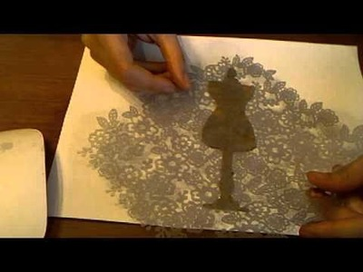 Glitter Dressform Technique with Marion Smith