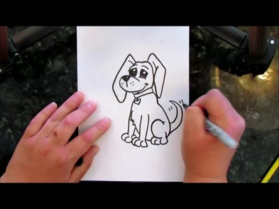 How to Draw a Dog - STEP by STEP