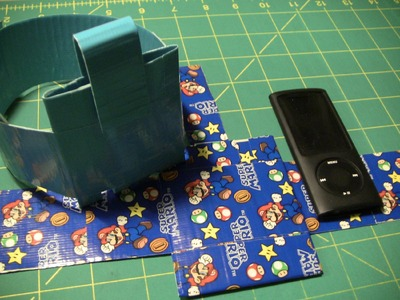 How to make a Duct tape iPod sport band!